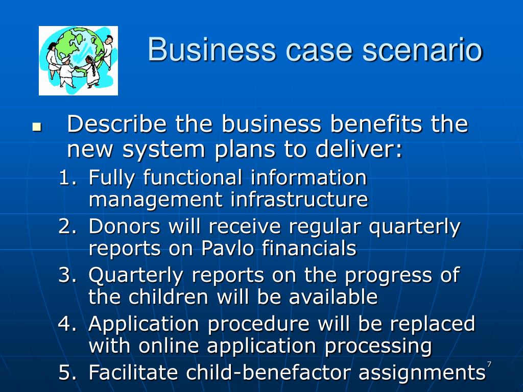Business case scenario