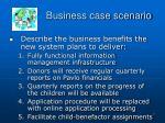 business case scenario