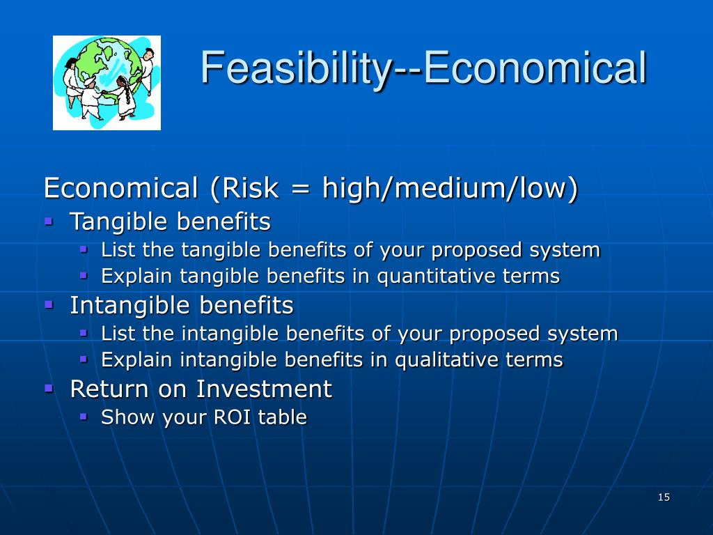 Feasibility--Economical