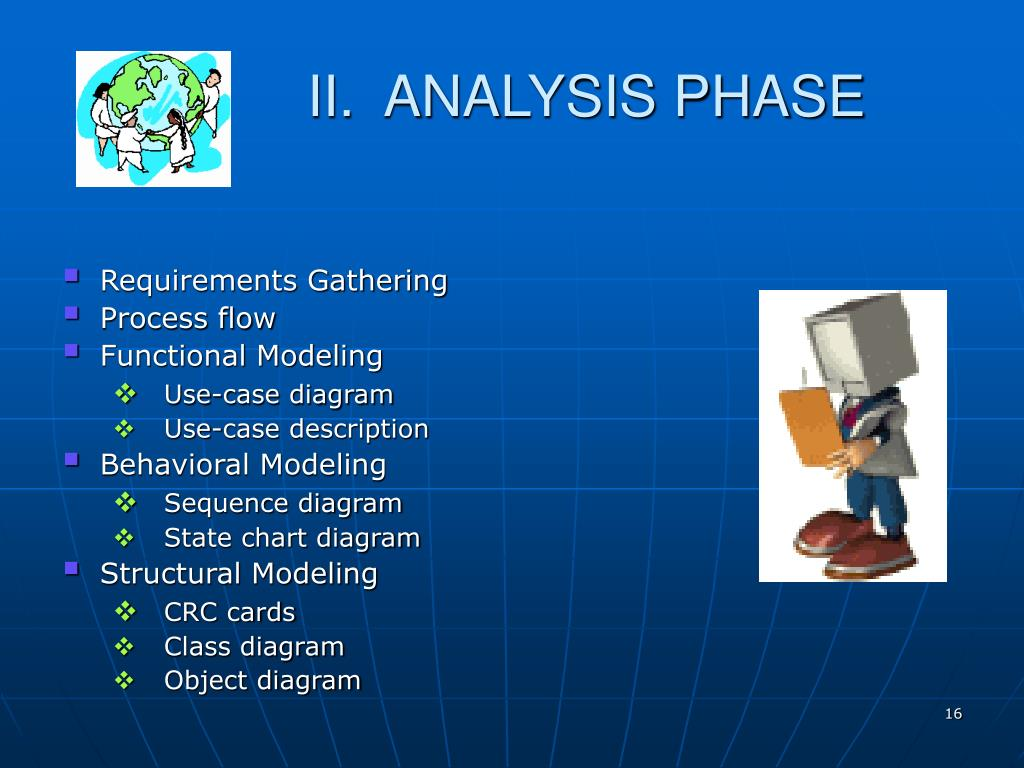 II.  ANALYSIS PHASE