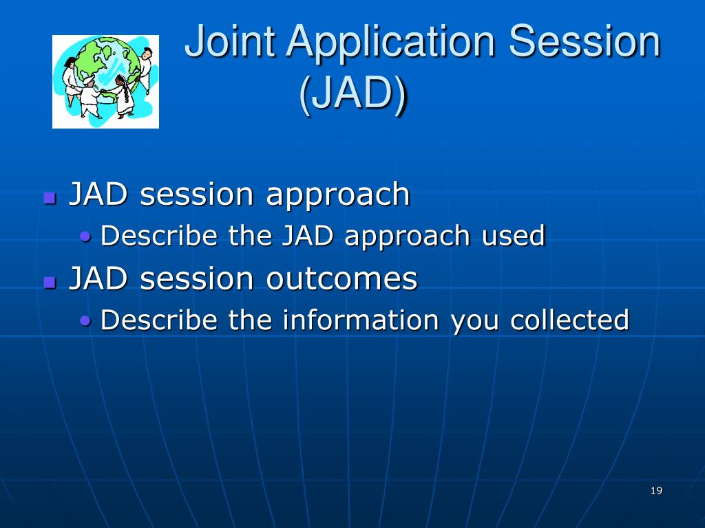 Joint Application Session
