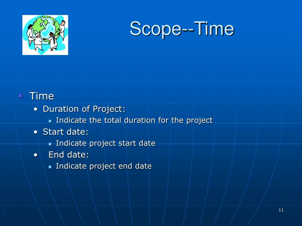 Scope--Time