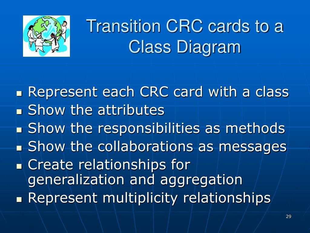 Transition CRC cards to a