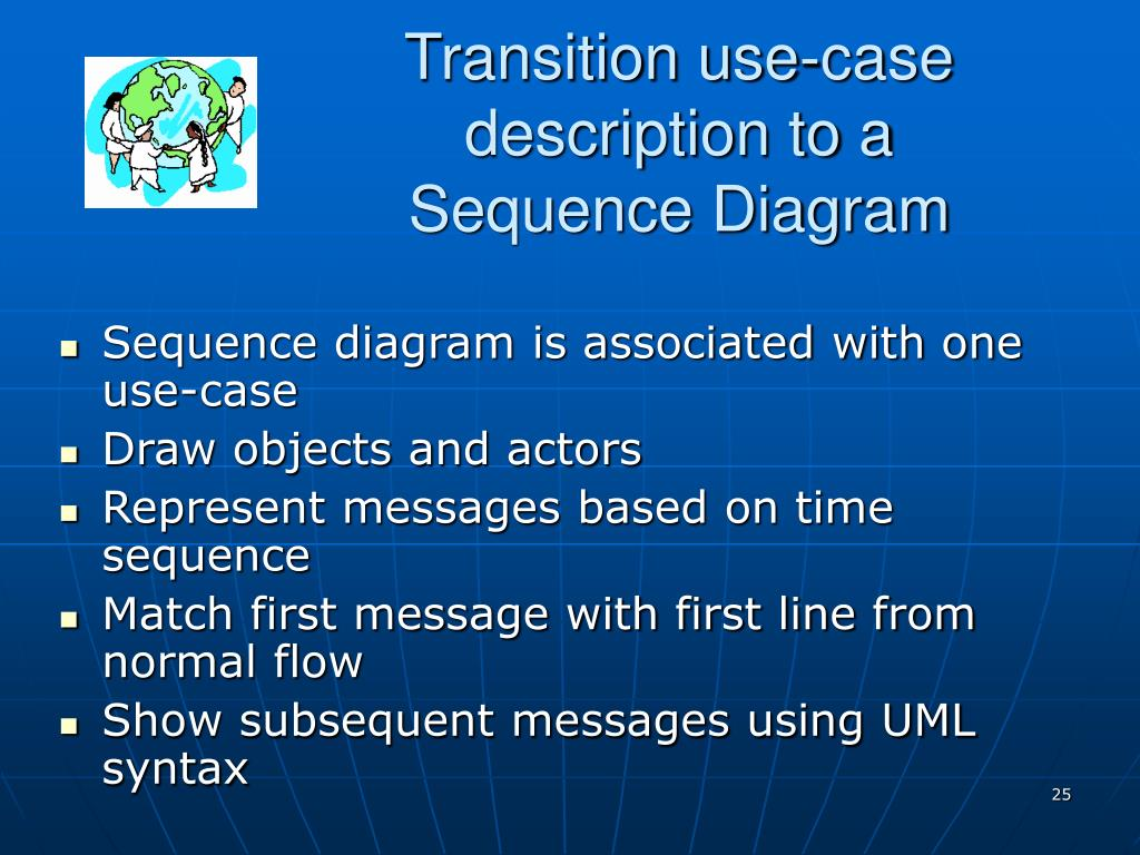 Transition use-case description to a