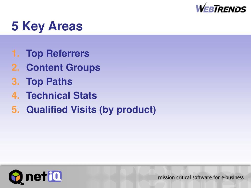 5 Key Areas