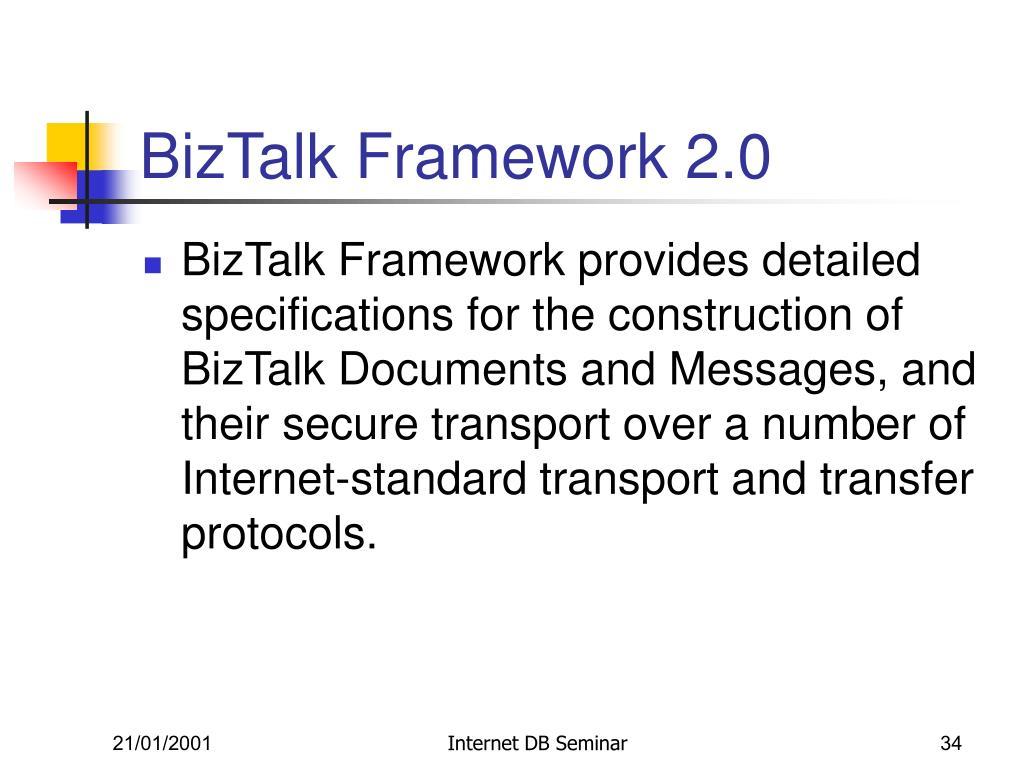 BizTalk Framework 2.0