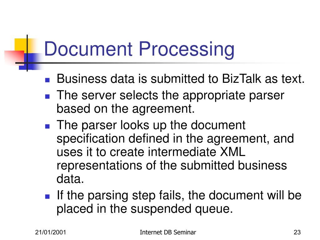 Document Processing