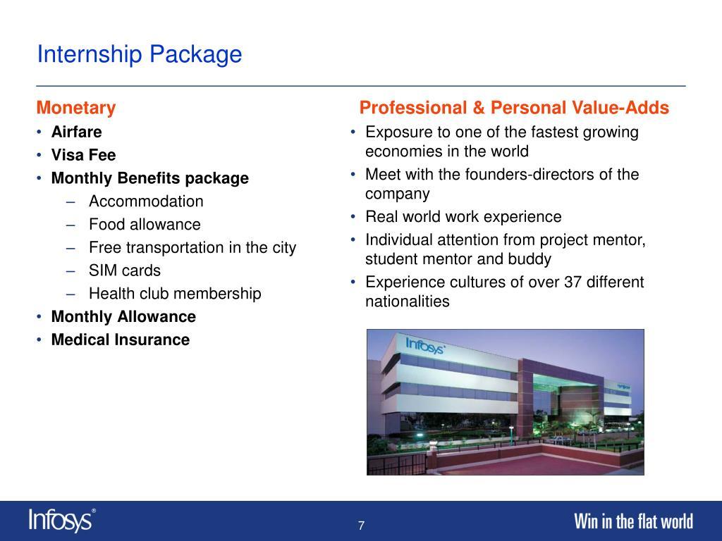 Internship Package