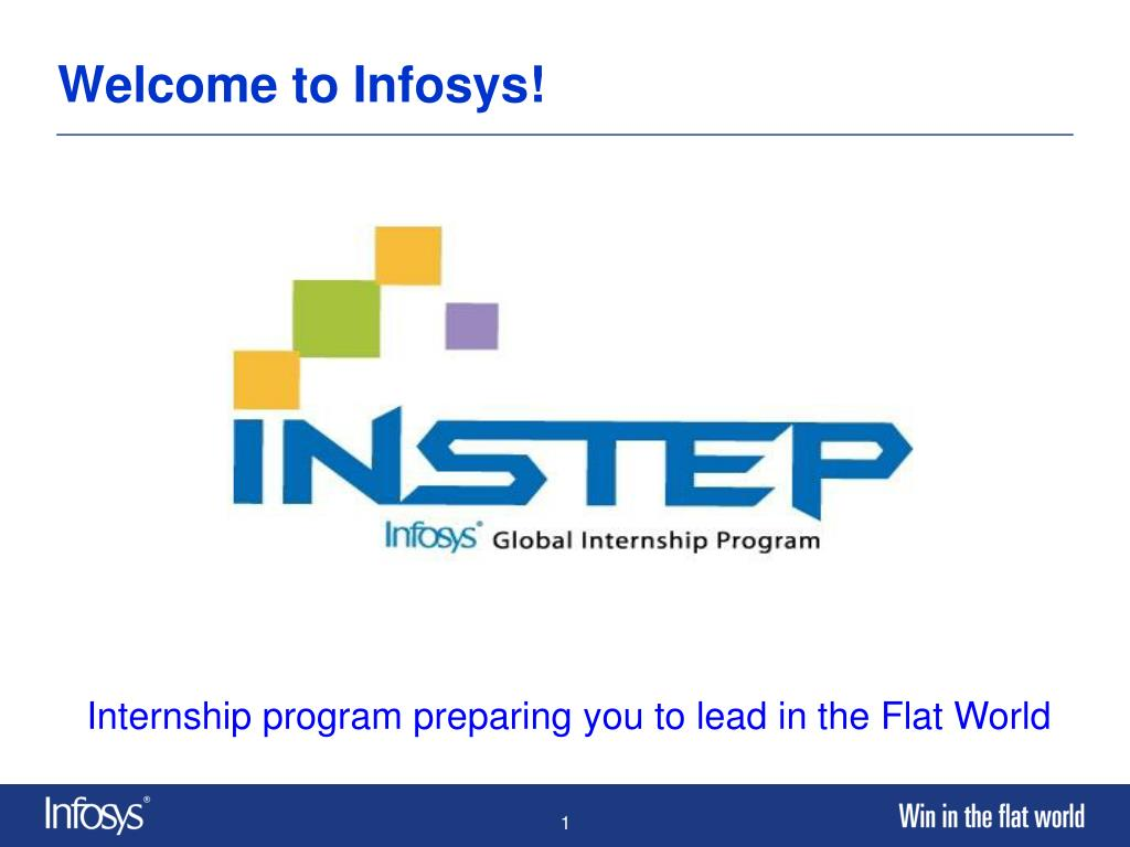 Welcome to Infosys!