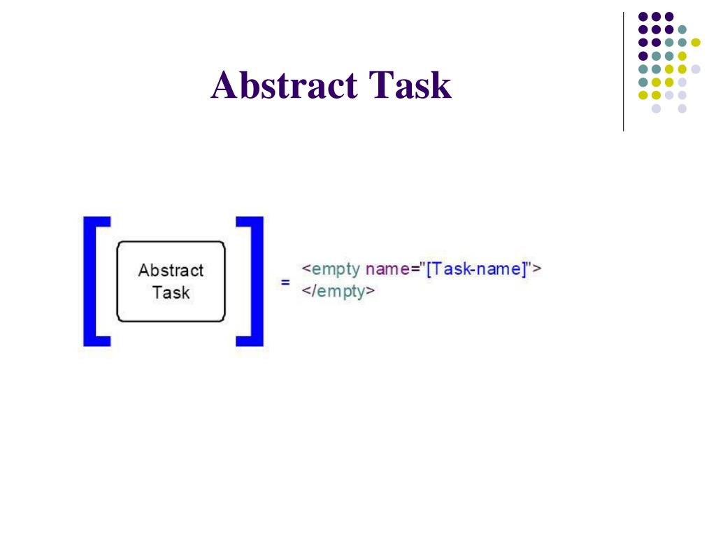 Abstract Task