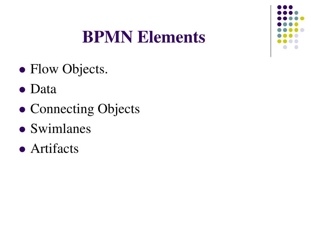 BPMN Elements