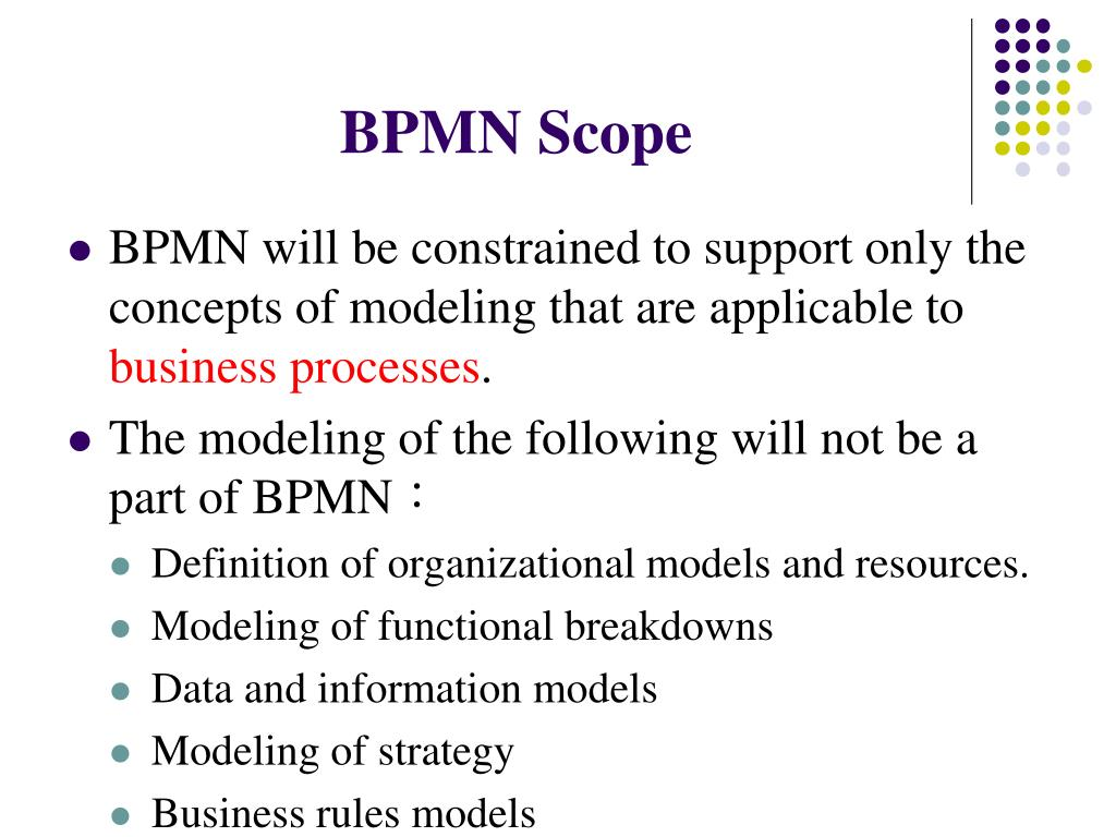 BPMN Scope