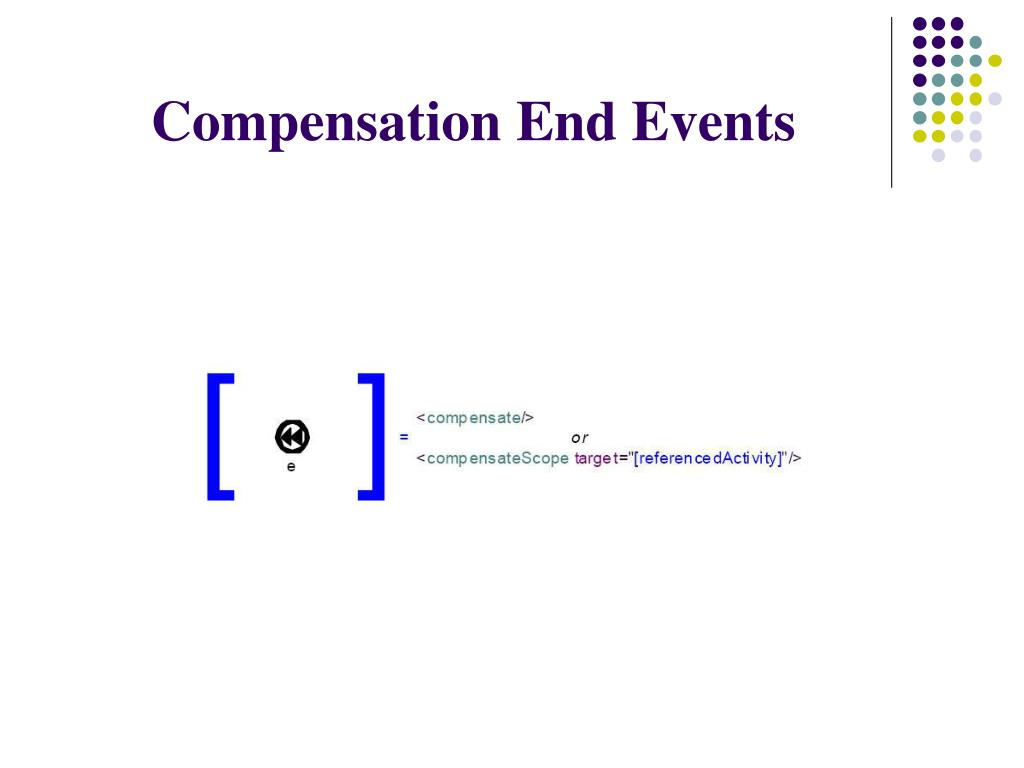 Compensation End Events
