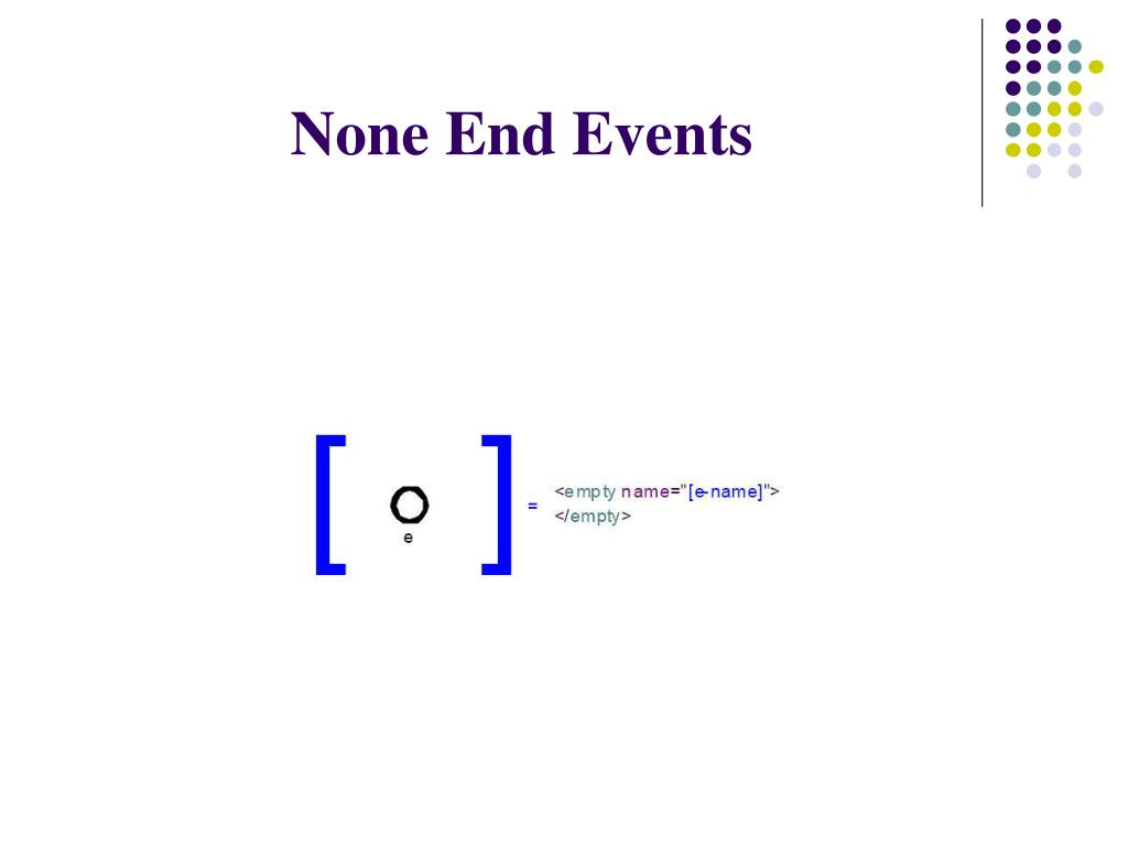 None End Events