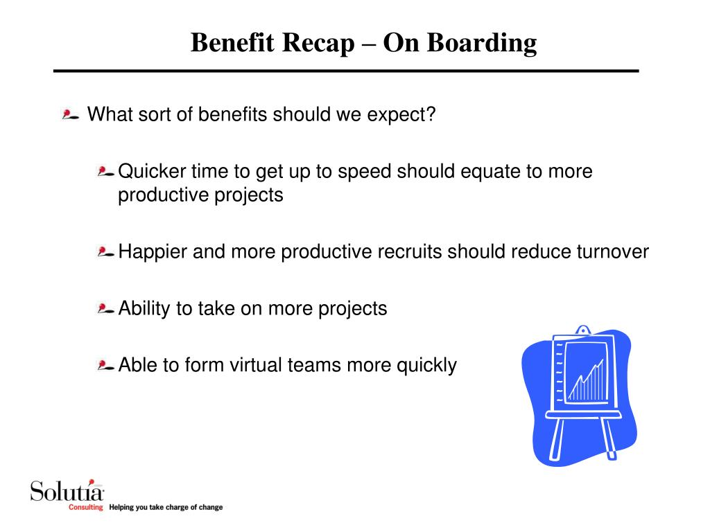 Benefit Recap – On Boarding