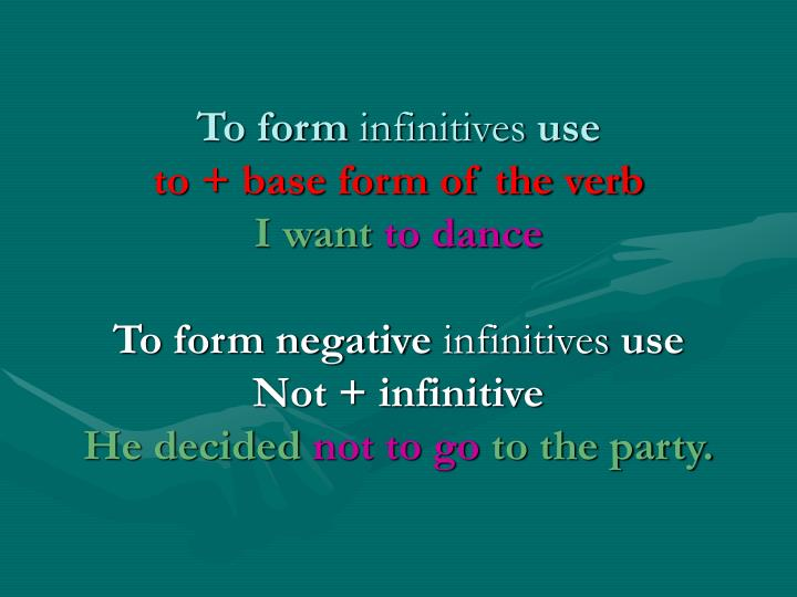 To form