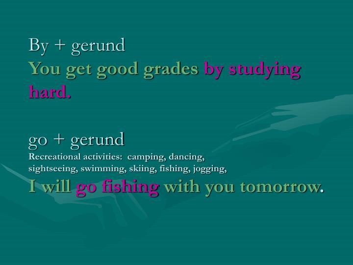 By + gerund