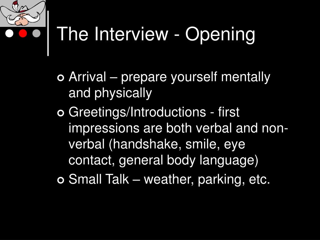 The Interview - Opening