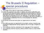the brussels ii regulation special procedures2