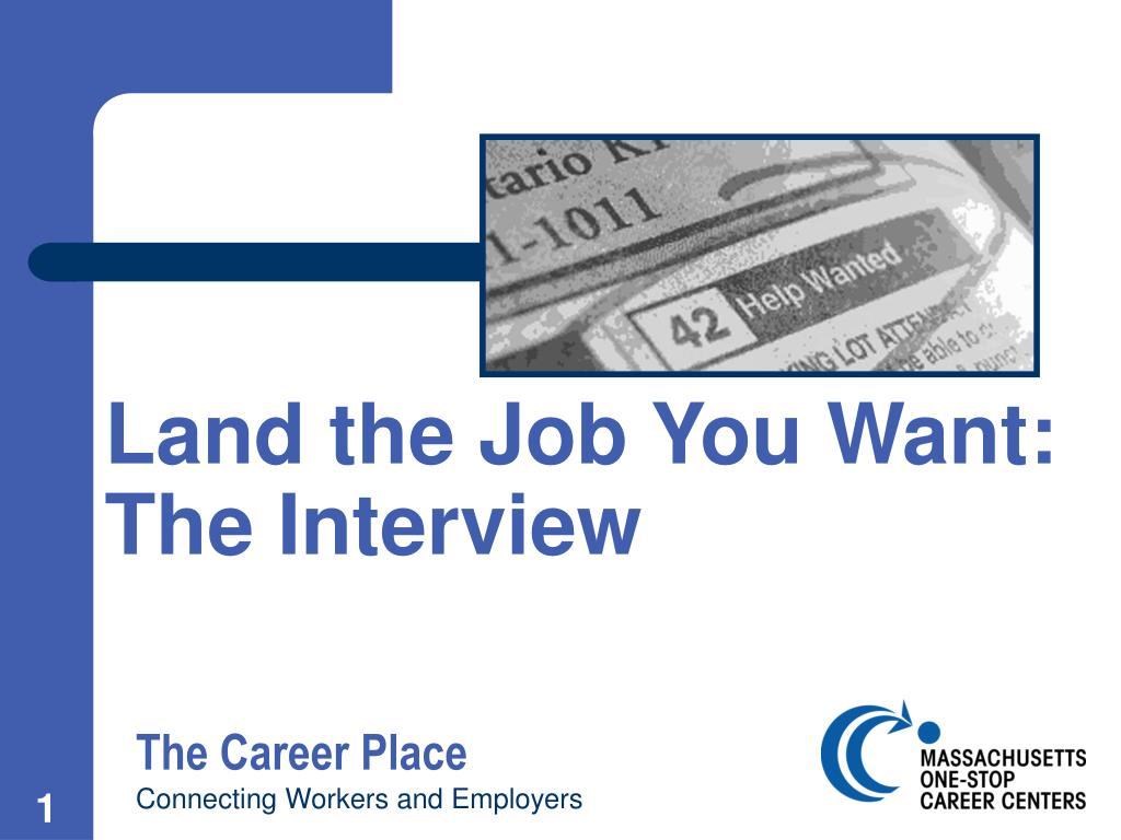 Land the Job You Want: