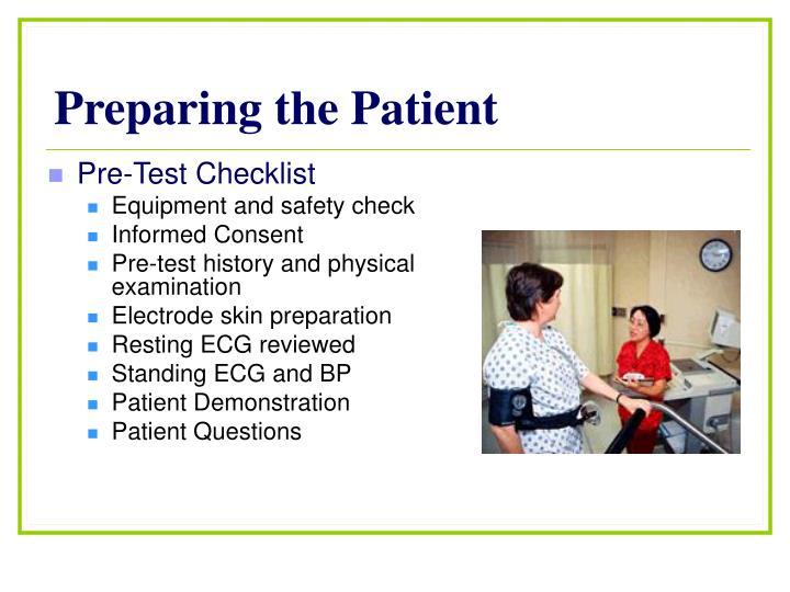Preparing the Patient