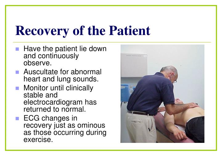 Recovery of the Patient