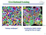 gravitational lensing41
