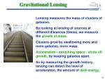 gravitational lensing42