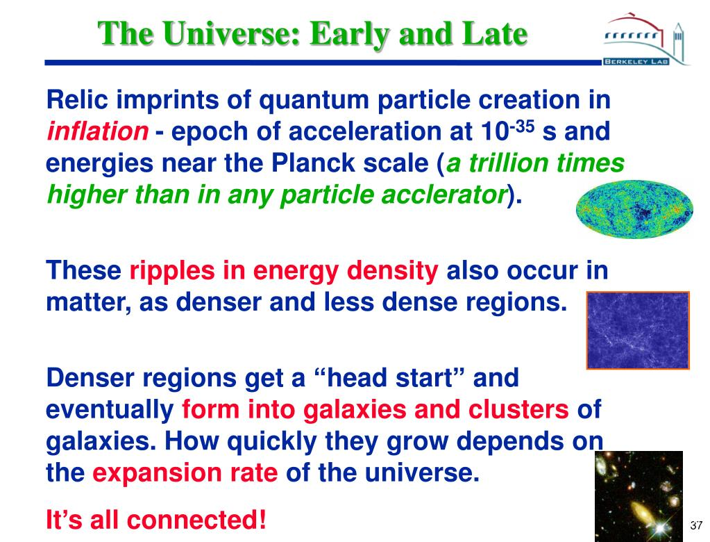 The Universe: Early and Late