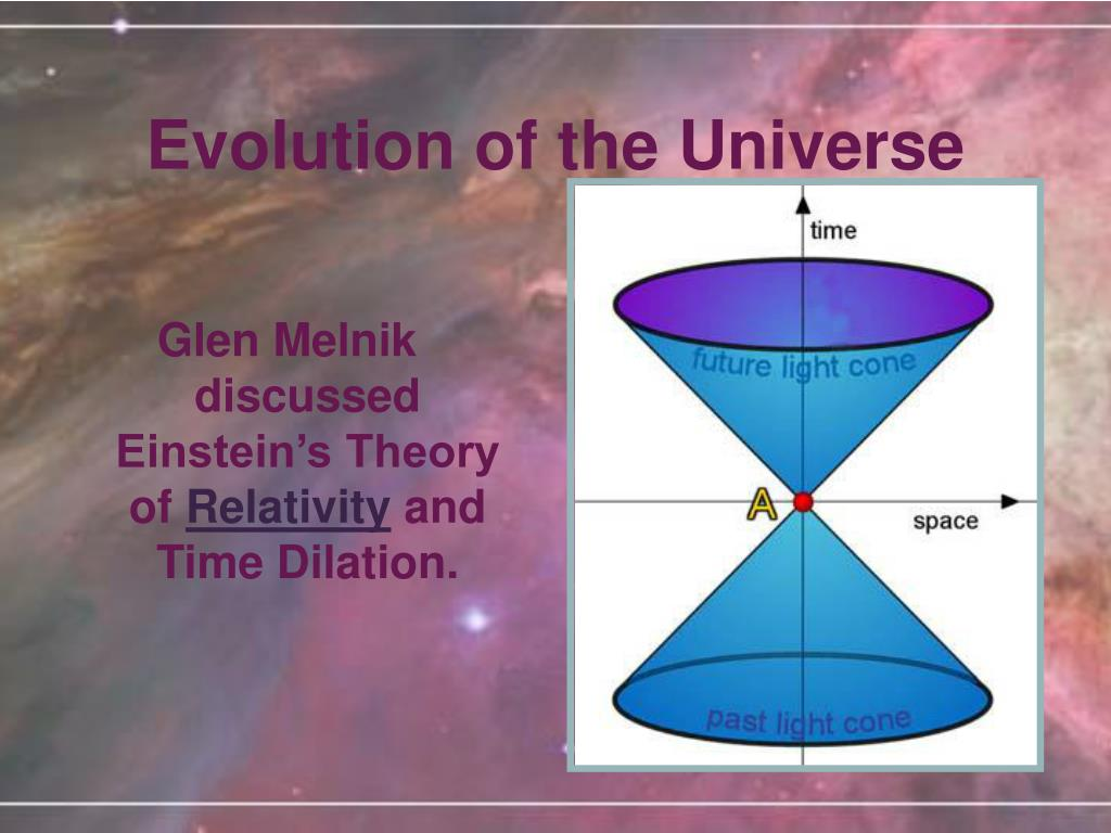 Glen Melnik discussed Einstein's Theory of
