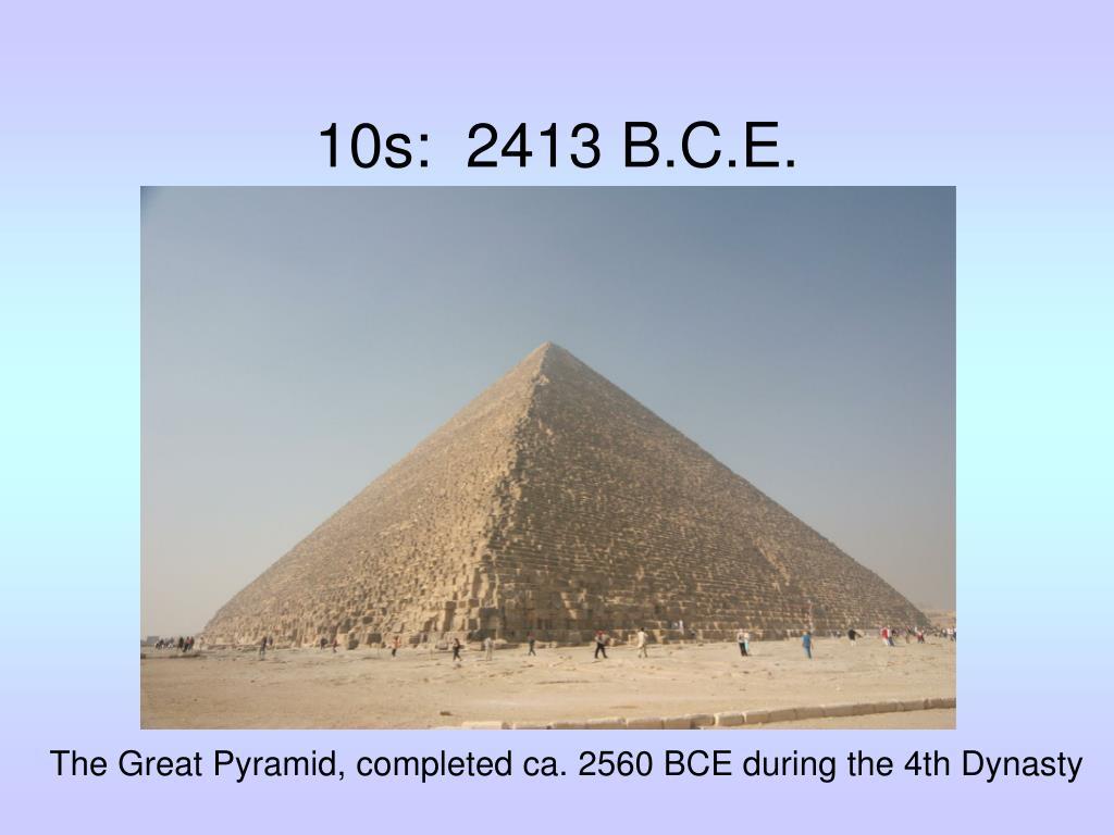 10s:  2413 B.C.E.