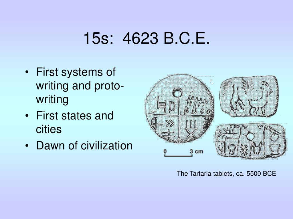 15s:  4623 B.C.E.