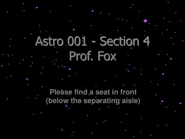 Astro 001 - Section 4