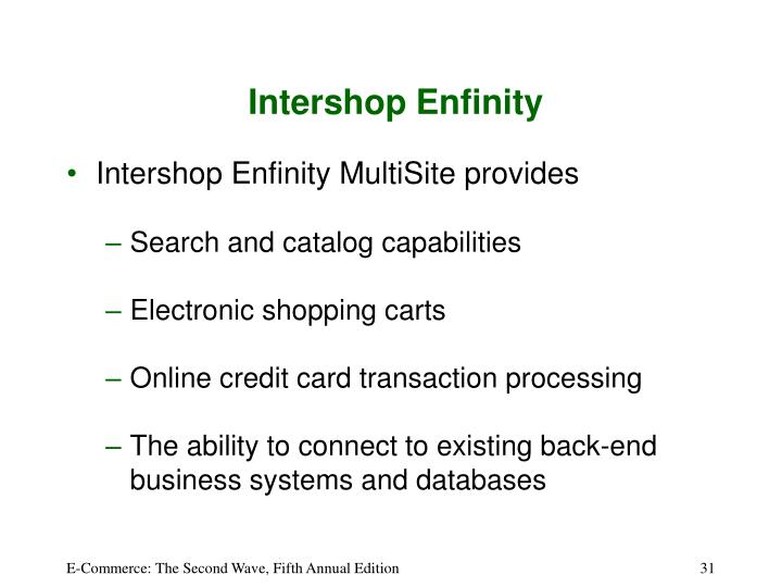Intershop Enfinity