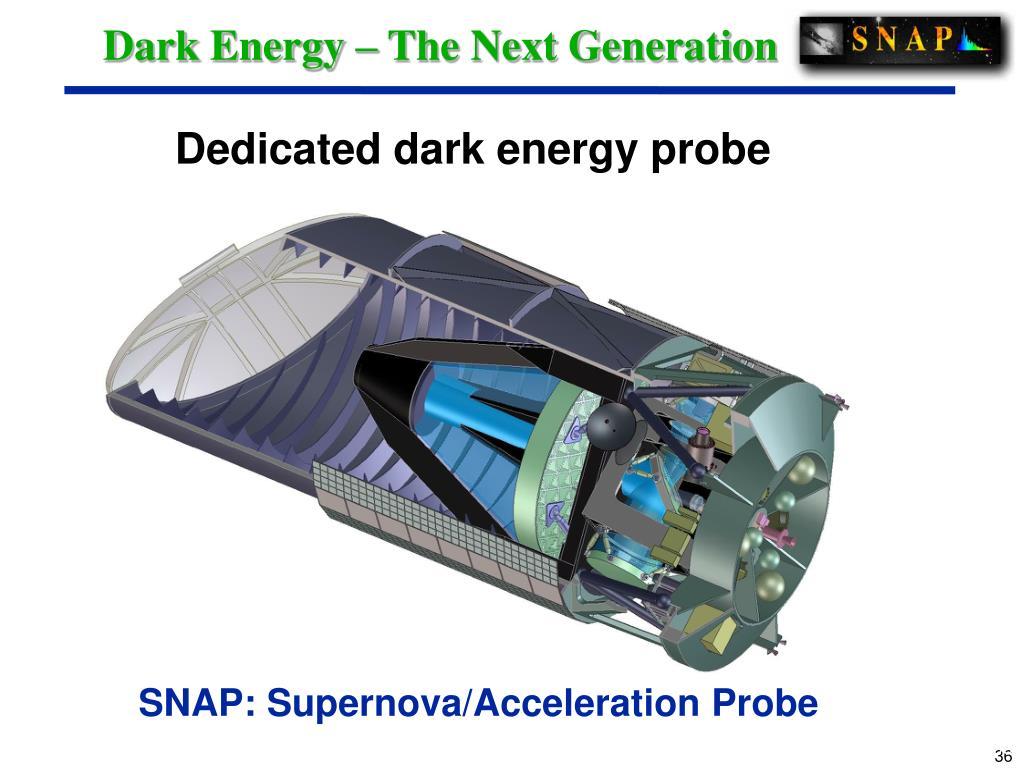 Dark Energy – The Next Generation