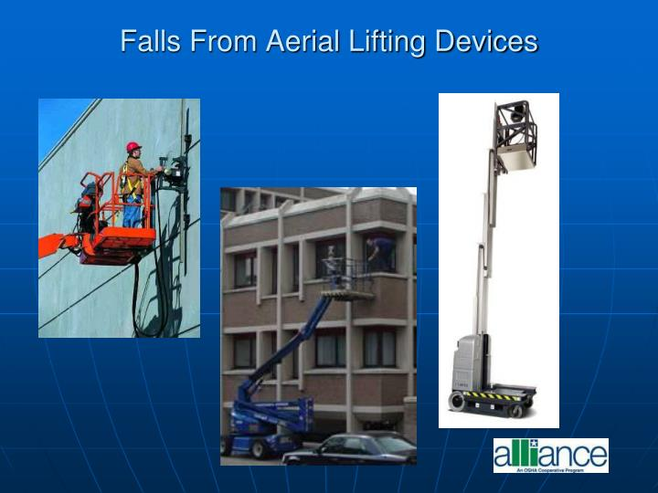 Falls From Aerial Lifting Devices