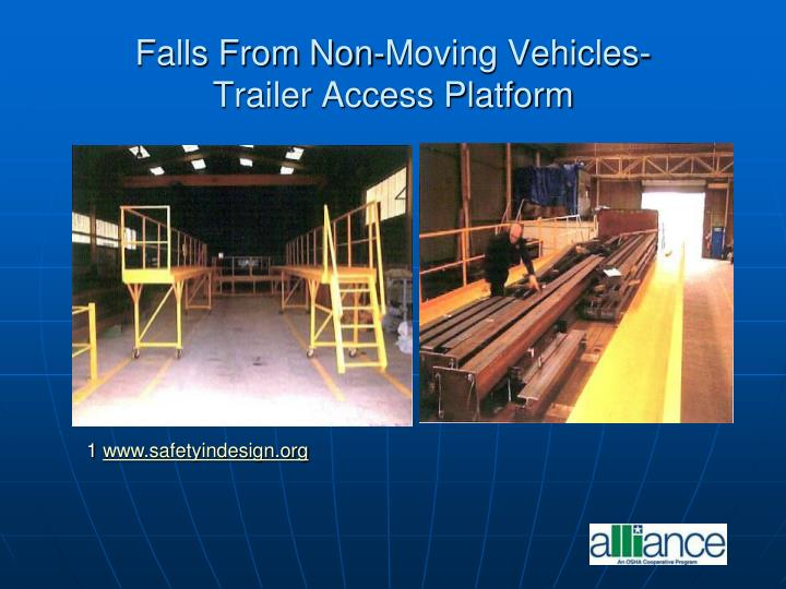 Falls From Non-Moving Vehicles-