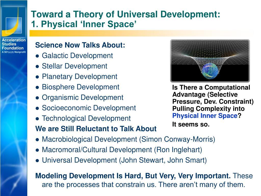 Toward a Theory of Universal Development: