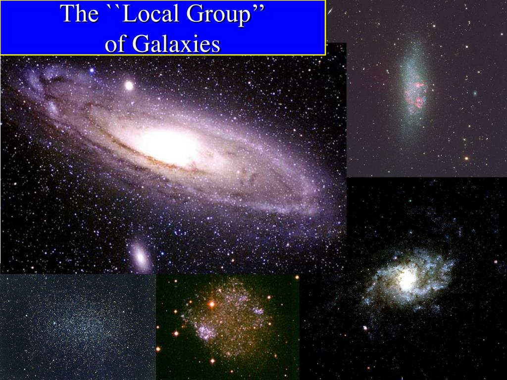 The ``Local Group''