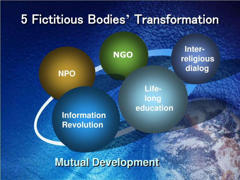 5 Fictitious Bodies