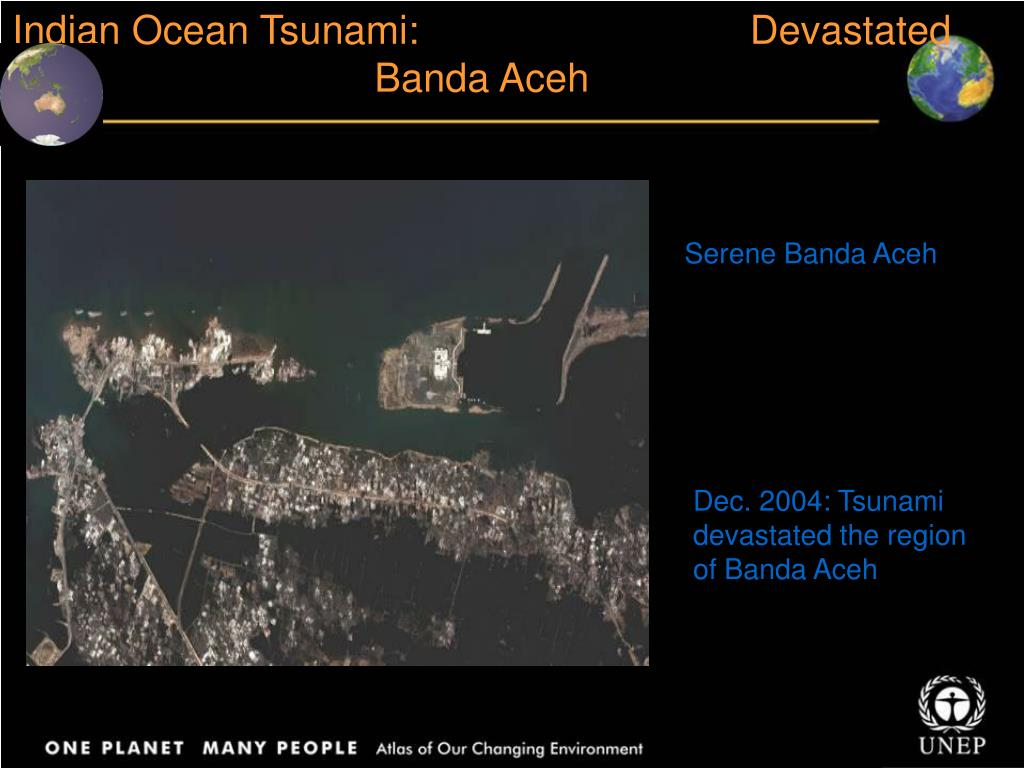 Indian Ocean Tsunami:                              Devastated Banda Aceh