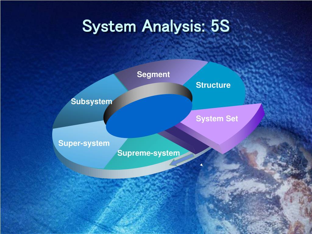 System Analysis: 5S
