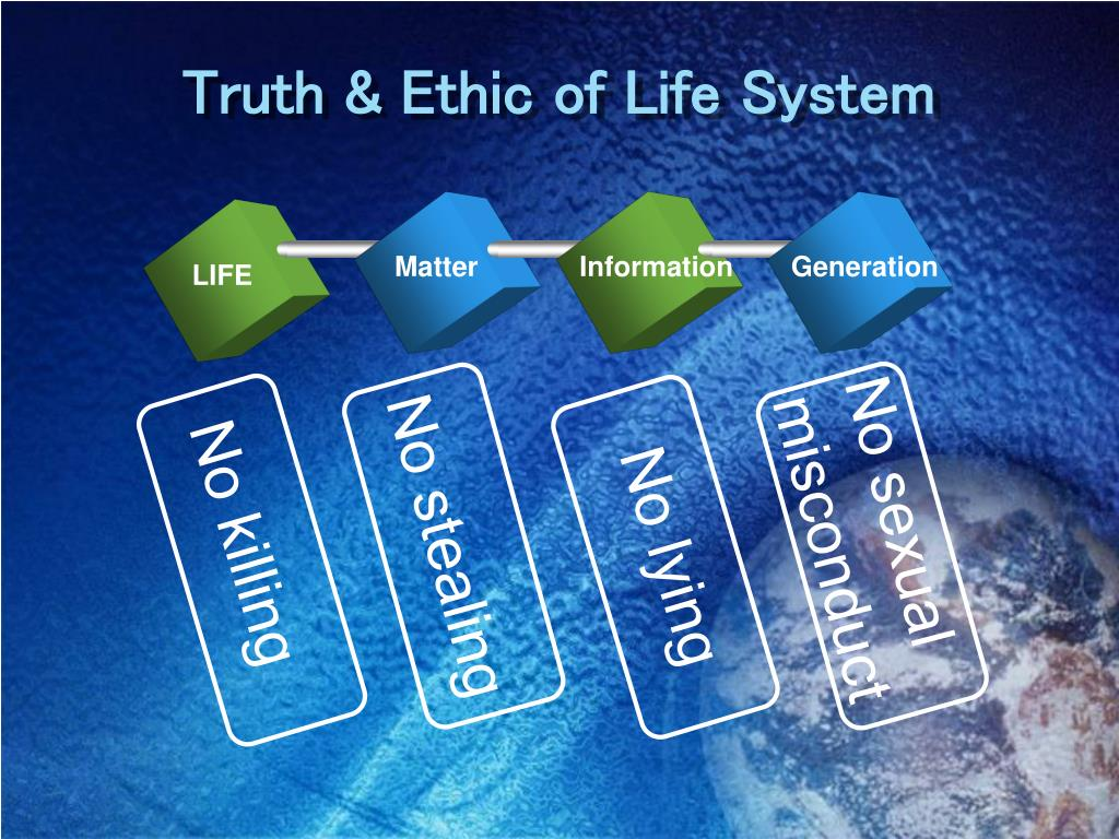 Truth & Ethic of Life System