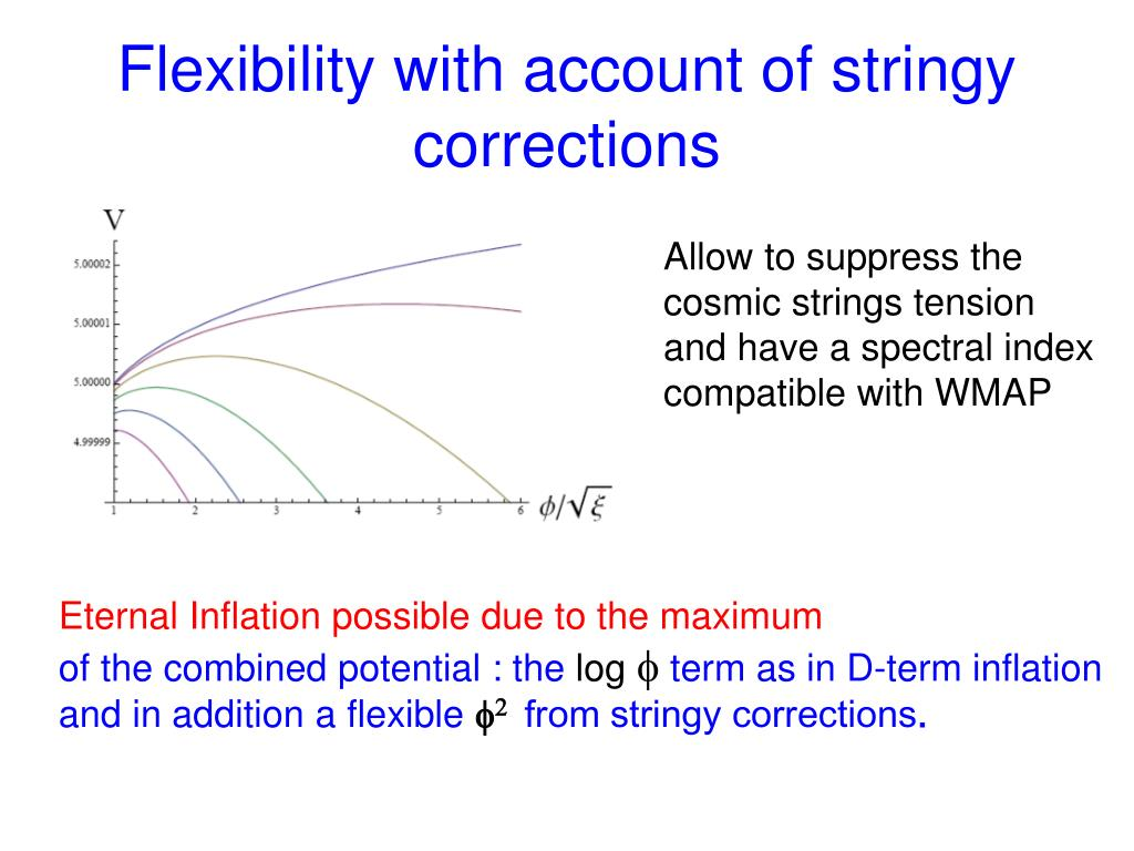 Flexibility with account of stringy corrections