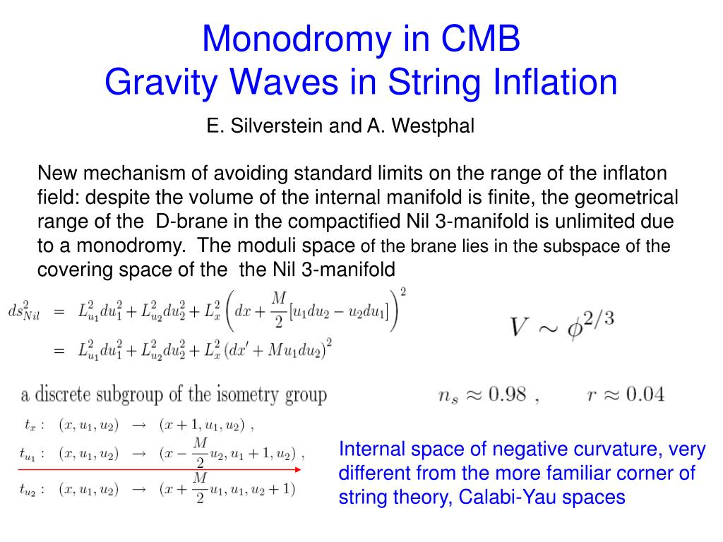 Monodromy in CMB