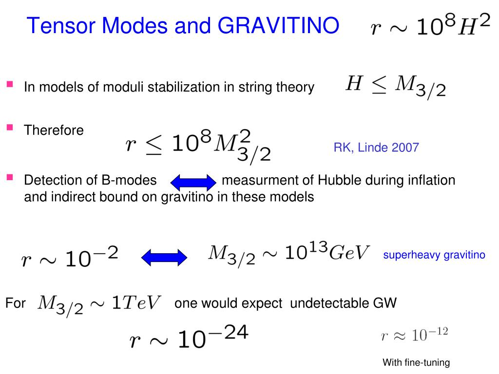 Tensor Modes and GRAVITINO