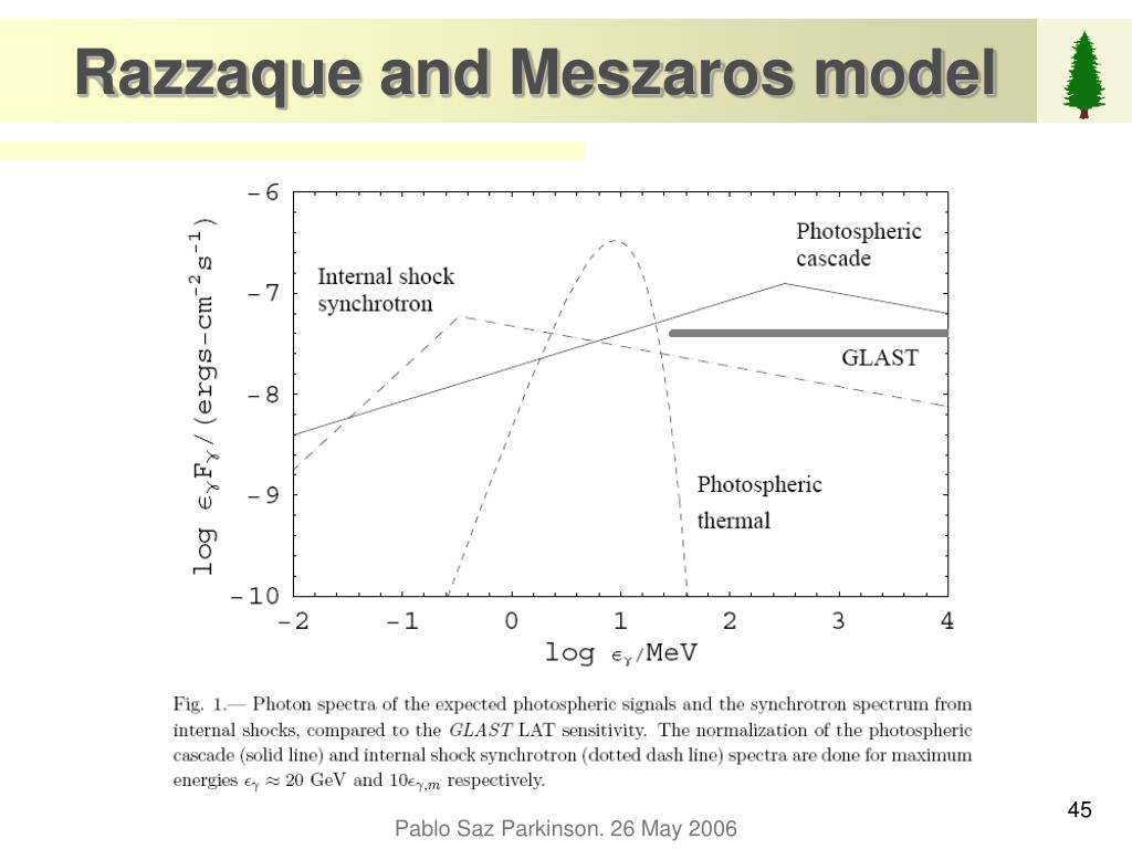 Razzaque and Meszaros model