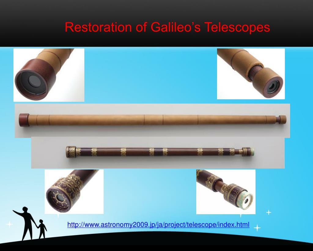 Restoration of Galileo's Telescopes