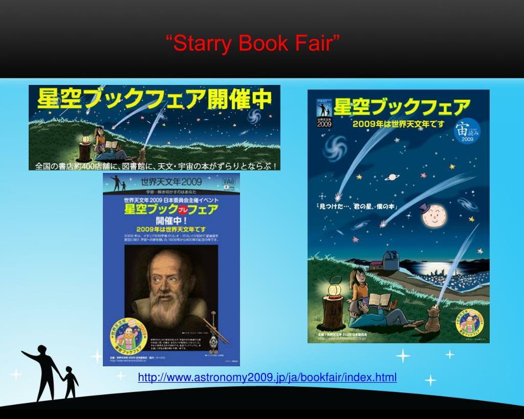 """Starry Book Fair"""