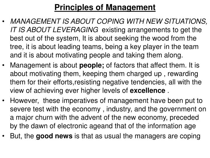 Principles of management1